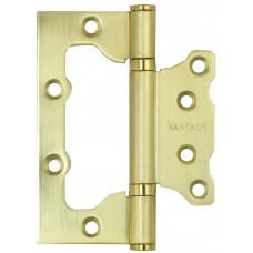 Петля неврезная Vantage 2BB 100х75 SB мат.золото