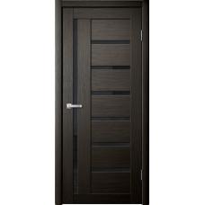 Дверь Foret 17 черн. стекло
