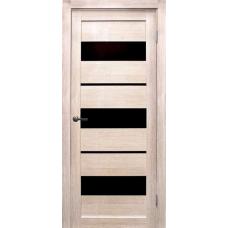 Дверь Параллель ДО черн, лиственница кремовая