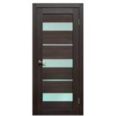 Дверь L-20, венге 3D