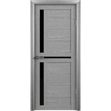 Дверь Т-5 ДО черн, акация кремовая