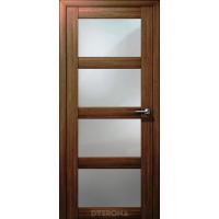 Двери Кватро ДО, грецкий орех