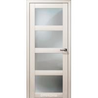 Двери Кватро ДО, снежная лиственница