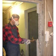 Демонтаж входных металлических дверей