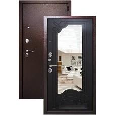 Входная дверь Страж с зеркалом (венге)
