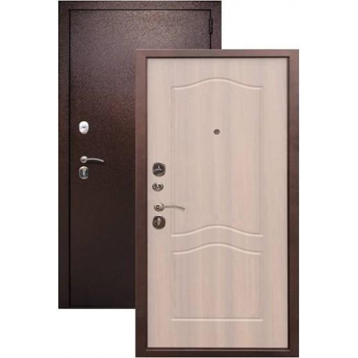 Входная дверь Сраж 2К беленый дуб