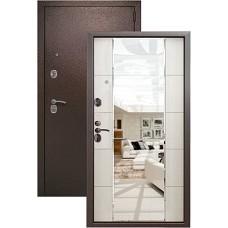 Входная дверь Kvadra 3K MIRROR