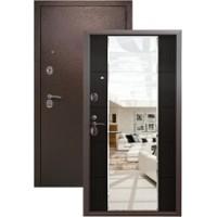 Дверь металлическая Kvadra 3K MIRROR