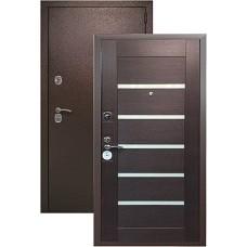 Сейф-дверь  Kvadra 3K Техно (венге)